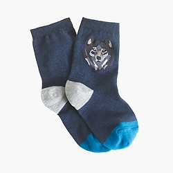 Boys' patterned socks