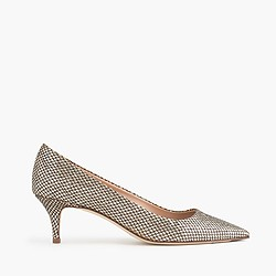Dulci mermaid glitter kitten heels
