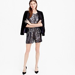 Collection starry sequin romper