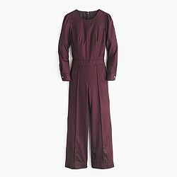 Collection wool culotte jumpsuit