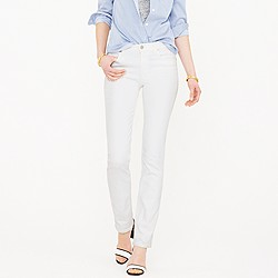 Tall matchstick jean in white