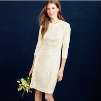 Collection sequin shift dress