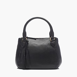 Peyton pebbled satchel