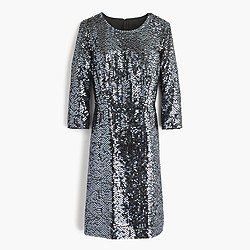 Collection starry sequin dress