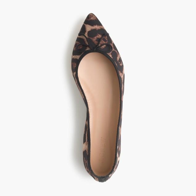 Gemma leopard flats