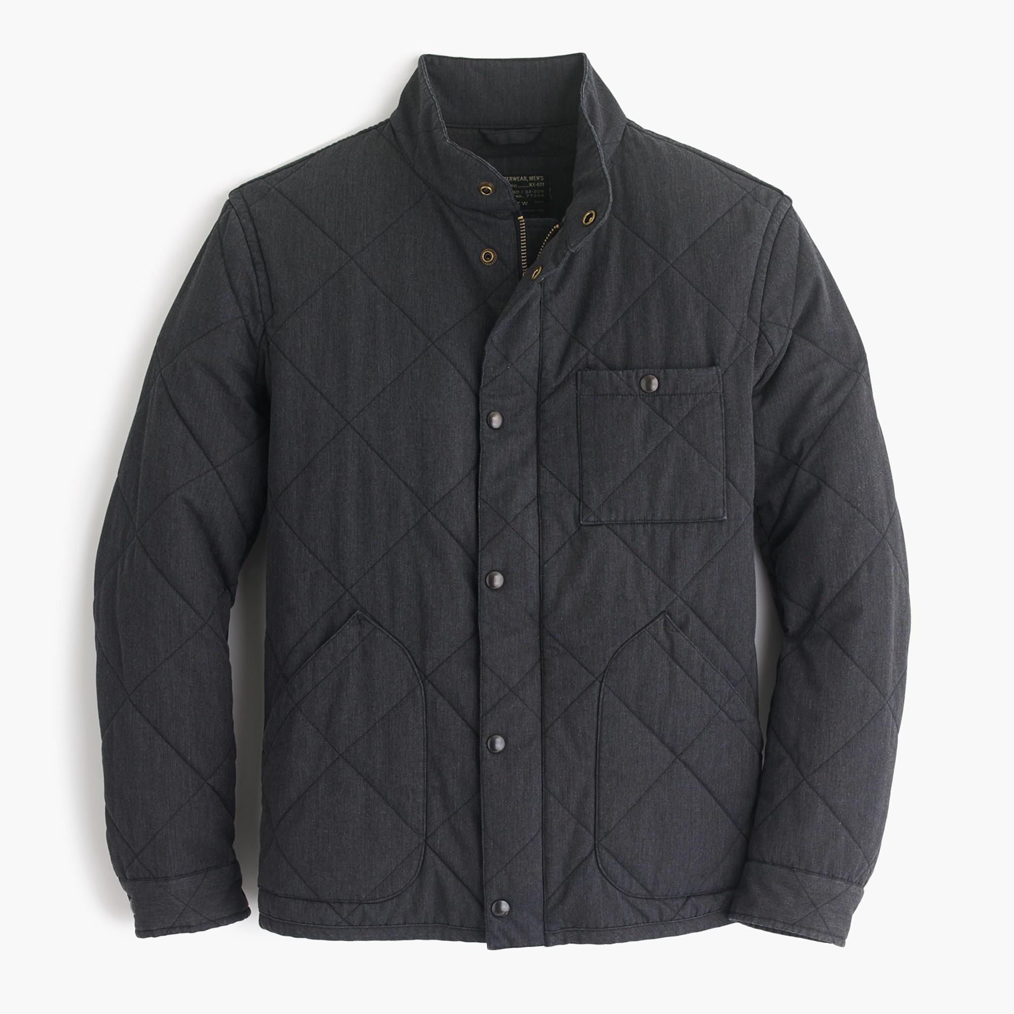 Sussex Quilted Jacket Men S Coats Amp Jackets J Crew
