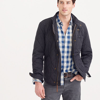 Tall Sussex quilted jacket