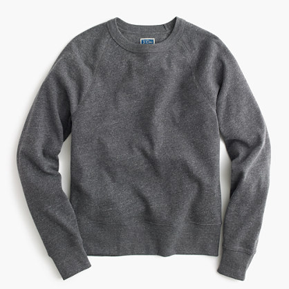 Tall brushed fleece sweatshirt