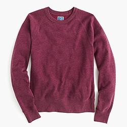 Slim brushed fleece sweatshirt