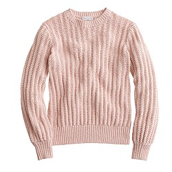 Ryan Roche™ for J.Crew ribbed sweater