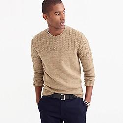 Wallace & Barnes wool-linen guernsey sweater