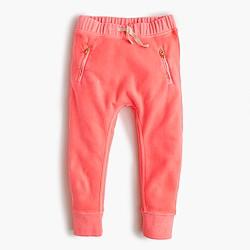 Girls' garment-dyed sweatpant