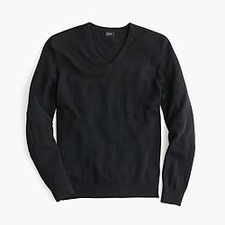 Softspun V-neck sweater