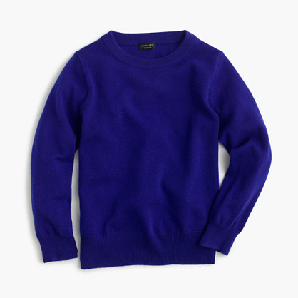 Kids' Italian cashmere sweater