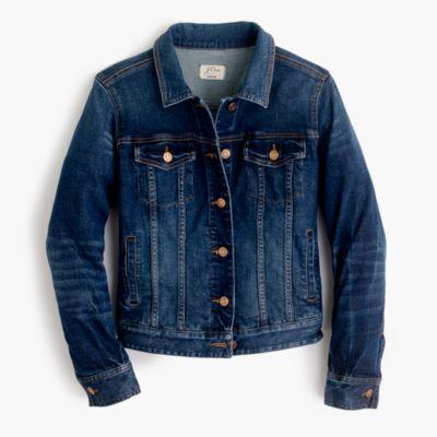 Stretch denim jacket in Sharon wash : Women denim | J.Crew