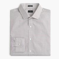 Ludlow shirt in dark acorn windowpane