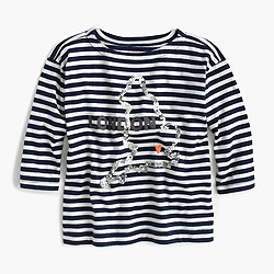 Girls' long-sleeve London T-shirt