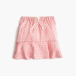 Girls' drapey star skirt