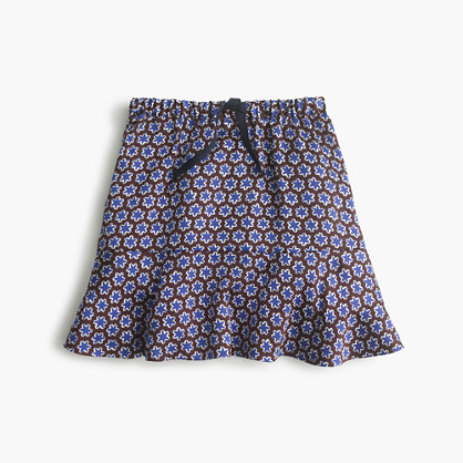 Girls' drapey star skirt