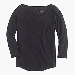 Petite vintage cotton dolman T-shirt