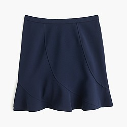 Flutter mini skirt