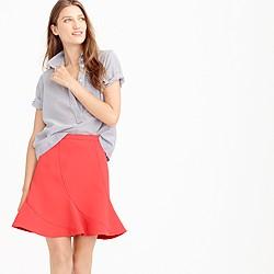 Flutter mini skirt