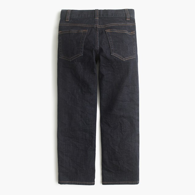 Boys' wrinkle rinse wash jean in straight fit
