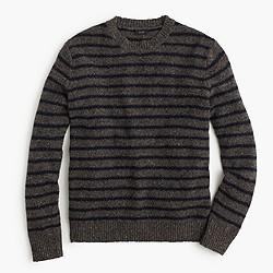 Donegal wool sweater in stripe