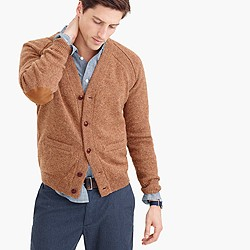 Wallace & Barnes English Shetland wool cardigan sweater