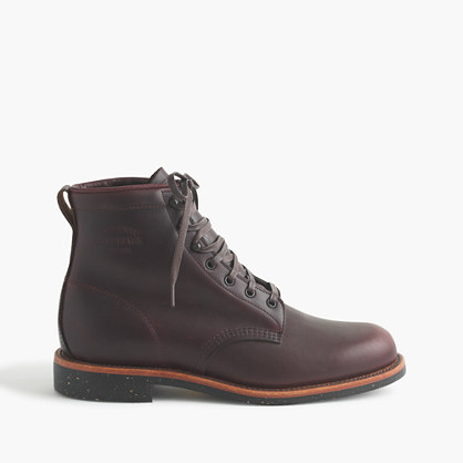 Original Chippewa® for J.Crew leather plain-toe boots