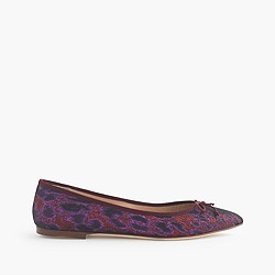 Gemma flats in watercolor floral