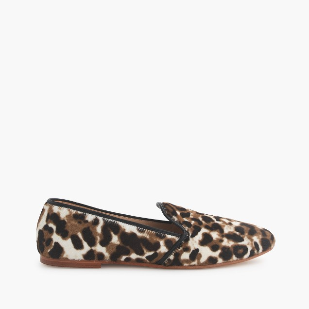 Collection calf hair loafers