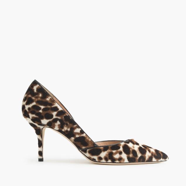 Collection Colette calf hair d'Orsay pumps