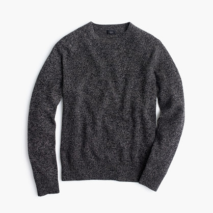 Marled lambswool sweater