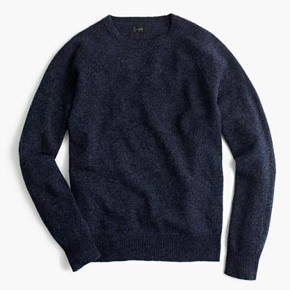 Tall marled lambswool sweater
