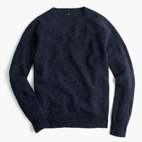 Slim marled lambswool sweater