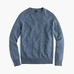 Slim marled lambswool sweater