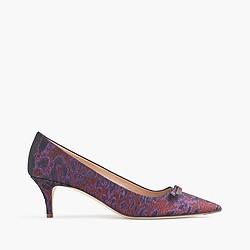 Dulci jacquard kitten heels
