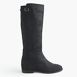 Langston tall boots with extended calf