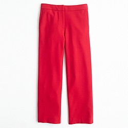 Patio pant in bi-stretch wool