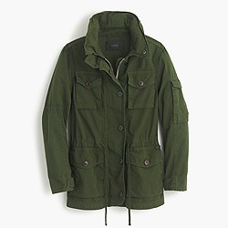 Petite field mechanic jacket
