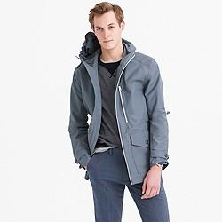 Cotton-nylon x250 hooded jacket