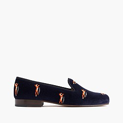 Stubbs & Wootton® for J.Crew velvet slippers