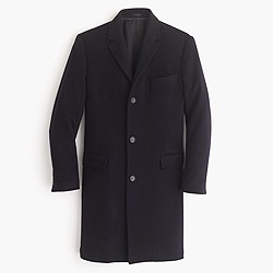 Crosby topcoat in wool-cashmere