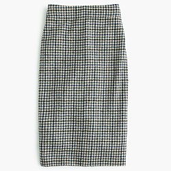 No. 2 pencil skirt in tweed