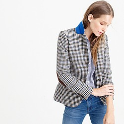 Petite Campbell blazer in tweed