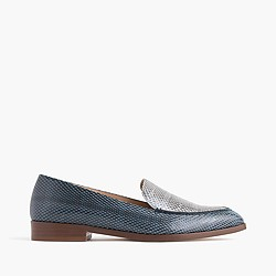 Collection snakeskin loafers
