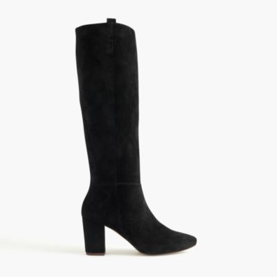 suede pull on boots j crew
