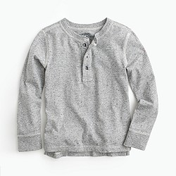 Boys' vintage cotton henley