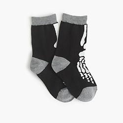 Boys' glow-in-the-dark patterned socks